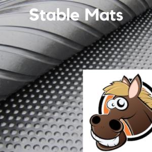 17nn stud dot rubber stable mats