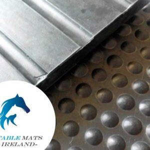 Rubber horse stable mats
